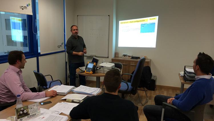 "<span class=""hpt_headertitle"">Trabajadores de IGM reciben un curso sobre calidad eléctrica</span>"